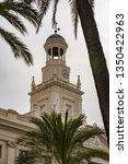cadiz city hall on plaza san...   Shutterstock . vector #1350422963