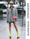 paris  france   march 05  2019  ...   Shutterstock . vector #1350426209