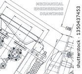 blueprint. corporate identity....   Shutterstock .eps vector #1350437453