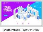 design website or landing page...   Shutterstock .eps vector #1350443909