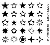 star collection. different... | Shutterstock .eps vector #1350453209