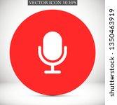 microphone vector icon