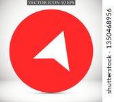 gps vector icon 10 eps | Shutterstock .eps vector #1350468956