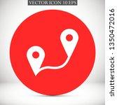 gps vector icon eps 10
