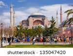 istanbul  turkey   march 9 ... | Shutterstock . vector #135047420