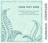 grunge vector greeting... | Shutterstock .eps vector #1350491630