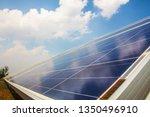 solar panel  alternative... | Shutterstock . vector #1350496910