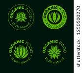 vector green design element for ... | Shutterstock .eps vector #1350500270