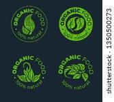 vector green design element for ... | Shutterstock .eps vector #1350500273