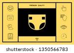 nappy icon symbol. graphic... | Shutterstock .eps vector #1350566783