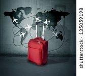 travel concept | Shutterstock . vector #135059198