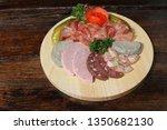 swabian bavarian farmers meal...   Shutterstock . vector #1350682130