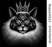 The Vector Logo Queen Of Cats...