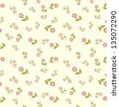 seamless floral pattern with... | Shutterstock .eps vector #135072290