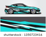 livery decal car vector  ...   Shutterstock .eps vector #1350723416