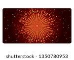 background fireworks  vector | Shutterstock .eps vector #1350780953