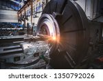 milling mechanical turning... | Shutterstock . vector #1350792026