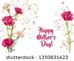 horizontal mother's day ... | Shutterstock .eps vector #1350831623