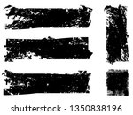 grunge paint roller . vector...   Shutterstock .eps vector #1350838196