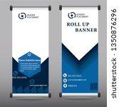 creative advertising roll up... | Shutterstock .eps vector #1350876296