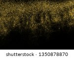 gold glitter halftone dotted... | Shutterstock .eps vector #1350878870