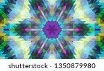 geometric design  mosaic of a... | Shutterstock .eps vector #1350879980