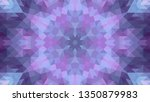 geometric design  mosaic of a... | Shutterstock .eps vector #1350879983