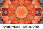 geometric design  mosaic of a... | Shutterstock .eps vector #1350879986