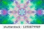 geometric design  mosaic of a... | Shutterstock .eps vector #1350879989