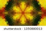 geometric design  mosaic of a... | Shutterstock .eps vector #1350880013