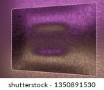 leather stitched texture or... | Shutterstock . vector #1350891530