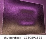 leather stitched texture or... | Shutterstock . vector #1350891536