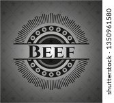 beef dark badge | Shutterstock .eps vector #1350961580