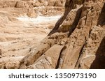 high rocky mountains in the... | Shutterstock . vector #1350973190