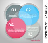 circle background. vector... | Shutterstock .eps vector #135101954