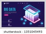 design website or landing page...   Shutterstock .eps vector #1351045493
