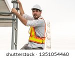 Young Man Construction Worker...