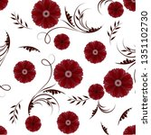 seamless vector pattern with...   Shutterstock .eps vector #1351102730