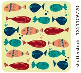 Graphic Decorative Fish
