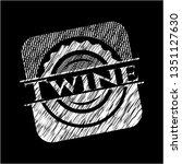 twine written on a blackboard   Shutterstock .eps vector #1351127630