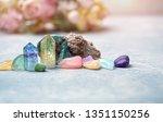 gemstones crystal minerals for... | Shutterstock . vector #1351150256