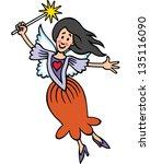 fairy | Shutterstock .eps vector #135116090
