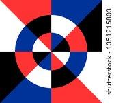 Pure Color Geometric Image....