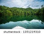 Boating And Camping On Lake...