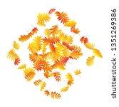 oak  maple  wild ash rowan... | Shutterstock .eps vector #1351269386