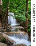 Erawan Waterfall In Thailand Is ...