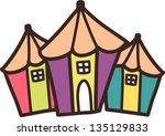 vector illustration of pencil...   Shutterstock .eps vector #135129833
