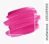 logo brush stroke painted... | Shutterstock .eps vector #1351359353