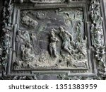 city of pisa  italy  may 09 ... | Shutterstock . vector #1351383959