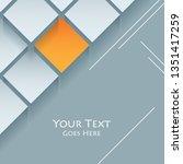 techno modern background | Shutterstock . vector #1351417259